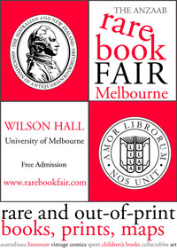 Melbourne ANZAAB book fair 2012
